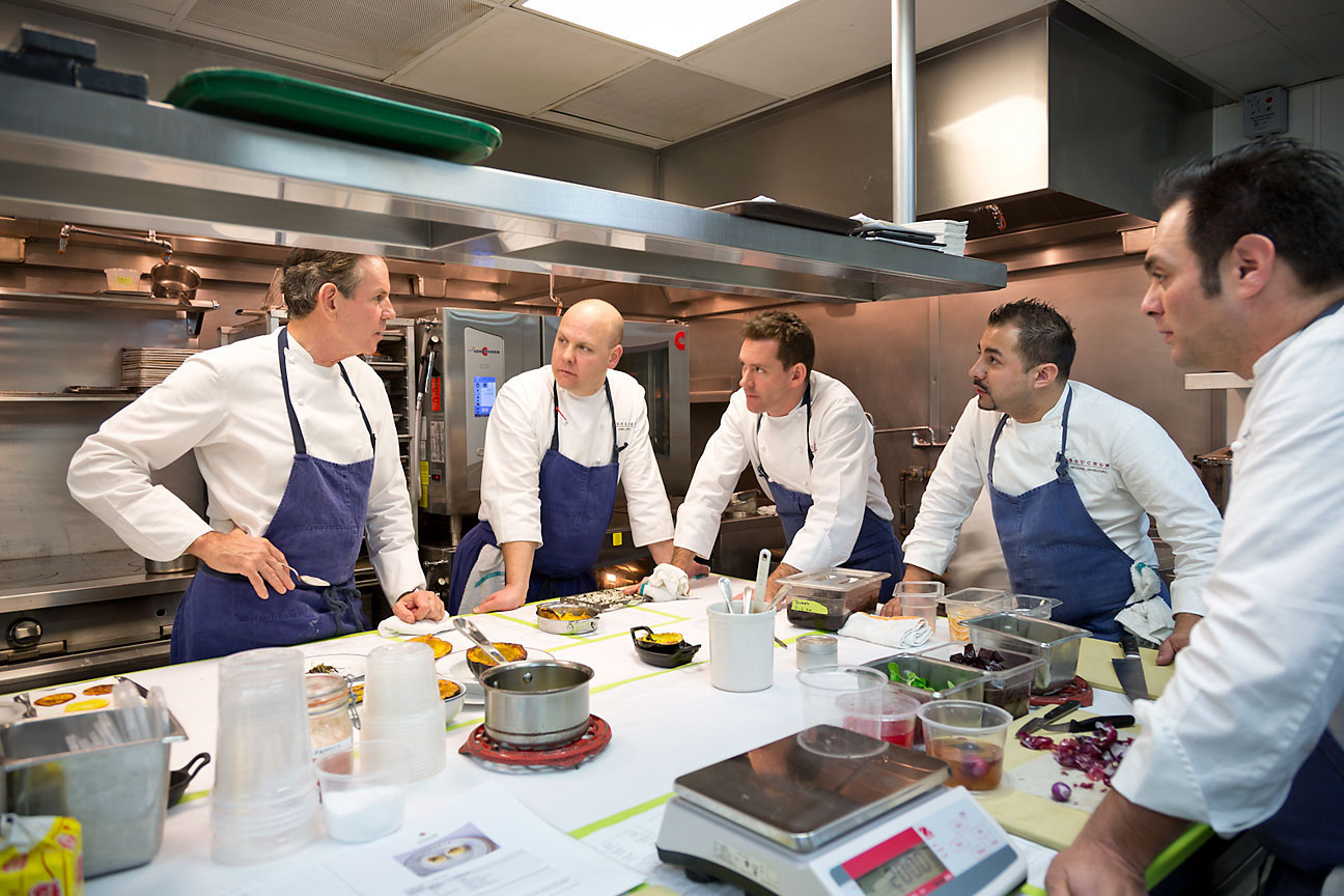 Bouchon Chefs with Thomas Keller