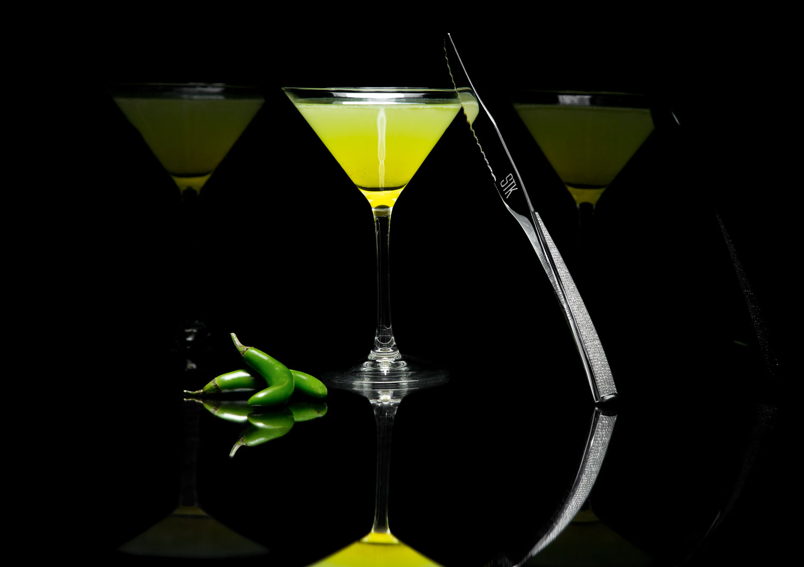 Green Intensity STK Cocktail